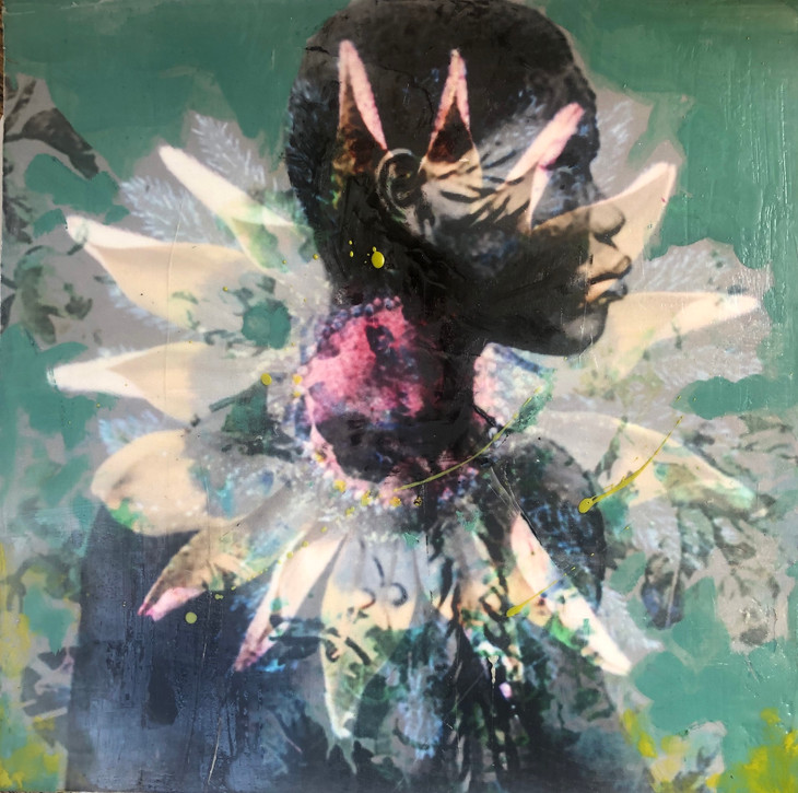 Annie Decamp Art and Her Encaustic Painting Join Firefly Handmade Summer Market