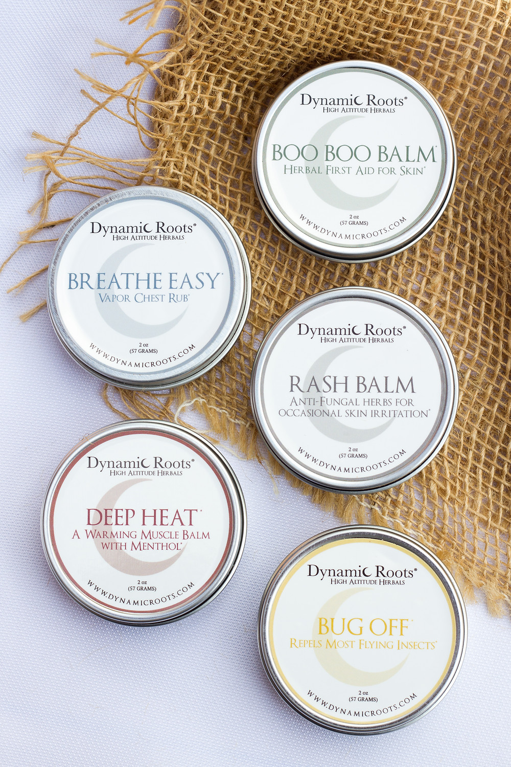 Amazing natural salves by Dynamic Roots