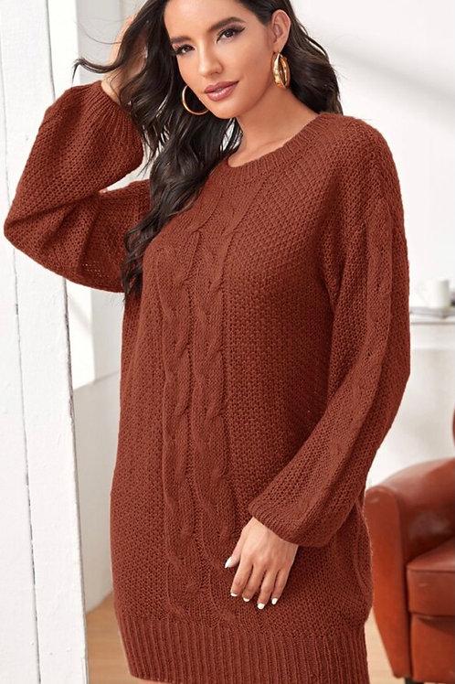 Abigail Knit Sweater Dress