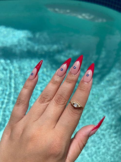 Evil Eye Sparkle Ring