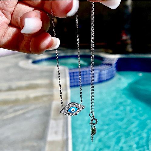 BlueSpiritual Evil Eye Necklace