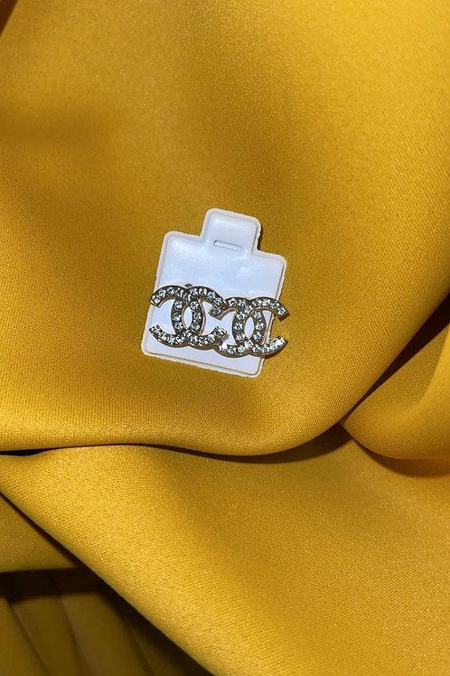 CC Earings (Gold)
