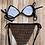 Thumbnail: Fae Bikini (Brown&Black)