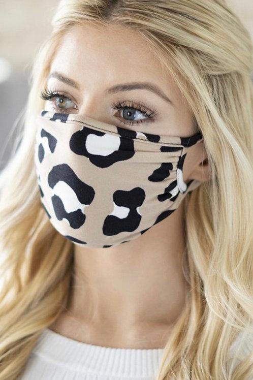 Face Mask (Leopard)