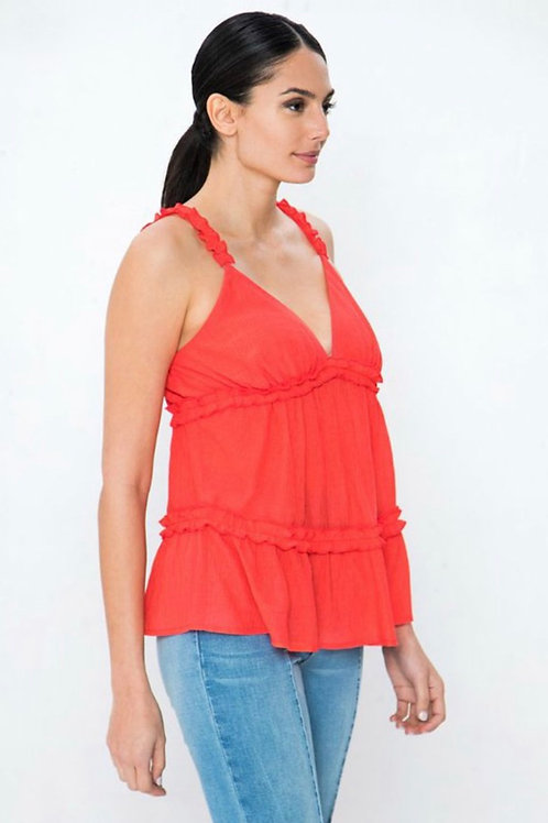 Shyla Top (Coral)