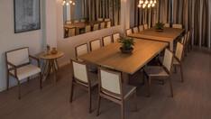 Mesa Davos Composição Cadeira Lover Tex Mesa de Canto Vênus
