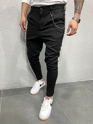 Black Chain Dress Chino