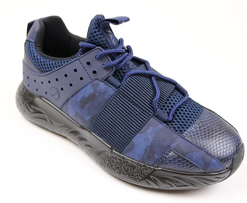 Blue Camo Javi Shoes
