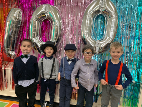 100 DAYS OF PREP / 100 JOURS EN GRANDE SECTION