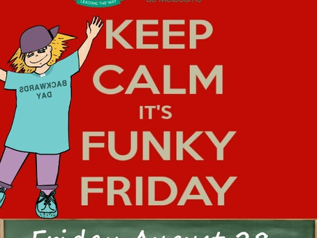 FUNKY FRIDAY / INSIDE OUT DAY!