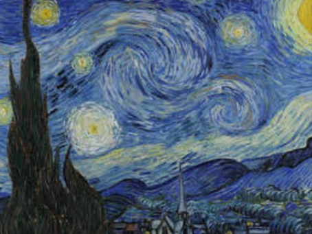 THE STARRY NIGHT FROM VAN GOGH / LA NUIT ÉTOILÉE DE VAN VOGH