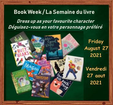HAPPY BOOK WEEK! / BONNE SEMAINE DU LIVRE !
