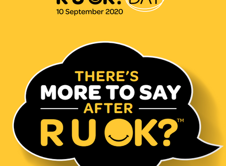 NATIONAL RUOK? DAY / JOURNÉE AUSTRALIENNE RUOK?
