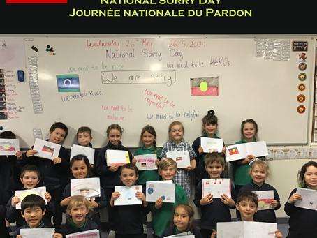 SORRY DAY /JOURNÉE DU PARDON