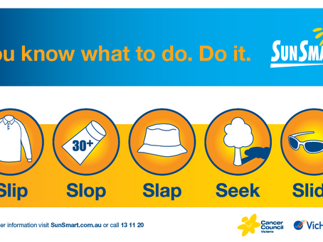 A REMINDER THAT PROTECTIVE SUN HATS ARE COMPULSORY IN TERM 4 AND TERM 1