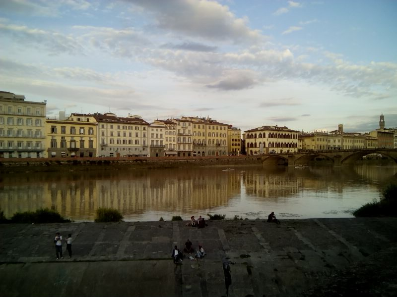 Florence: Lungarno