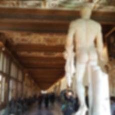 Флоренция. Галерея Уффици. Первый коридор