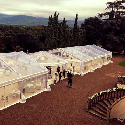 Свадьба на исторической вилле в Тоскане