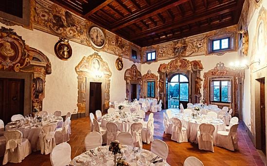 Организация свадебных банкетов во Флоренции и Тоскане