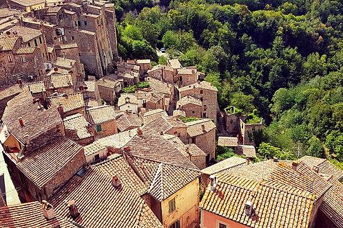 Между Тосканой, Умбрией и Лацио на 8 дней (на авто)