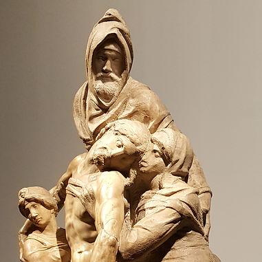 Микеланджело. Оплакивание Иисуса Христа.