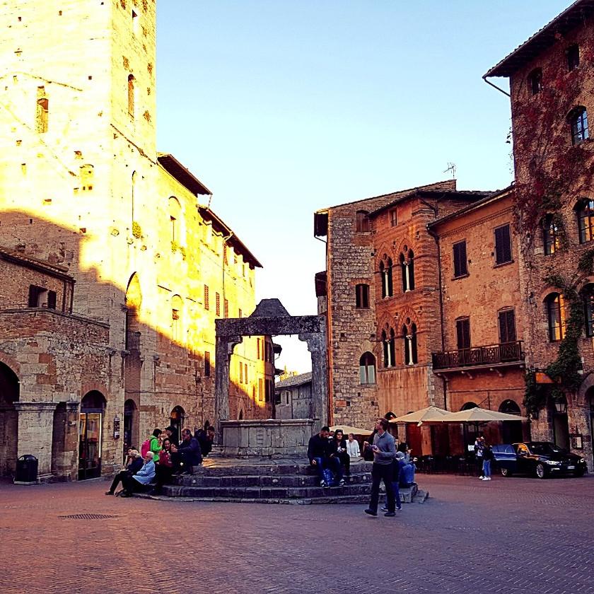 Тоскана. Сан Джиминьяно