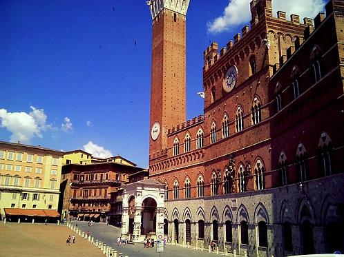 Тоскана 7 дней: Флоренция, Пиза, Лукка, Сиена (общественным транспортом)