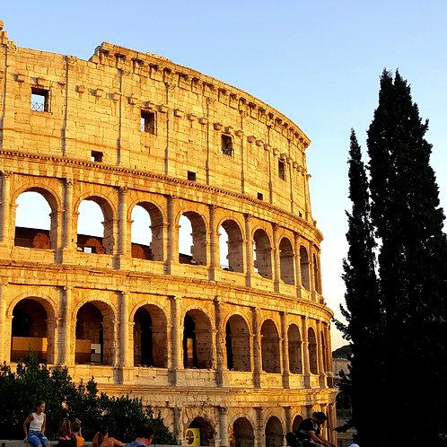 Маршрут: Рим-Флоренция-Венеция 7 дней (на поезде)