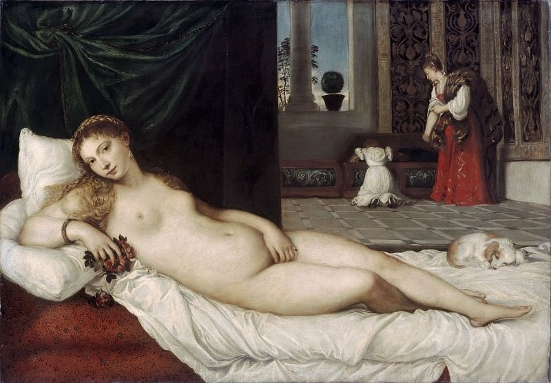 Тициан. Венера Урбинская