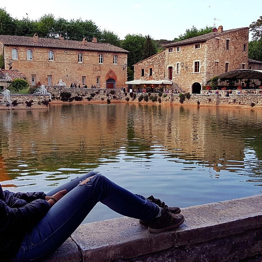 Тоскана. Термальные источники