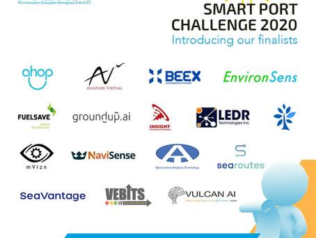[Event] Smart Port Challenge 2020 Finalist 선정