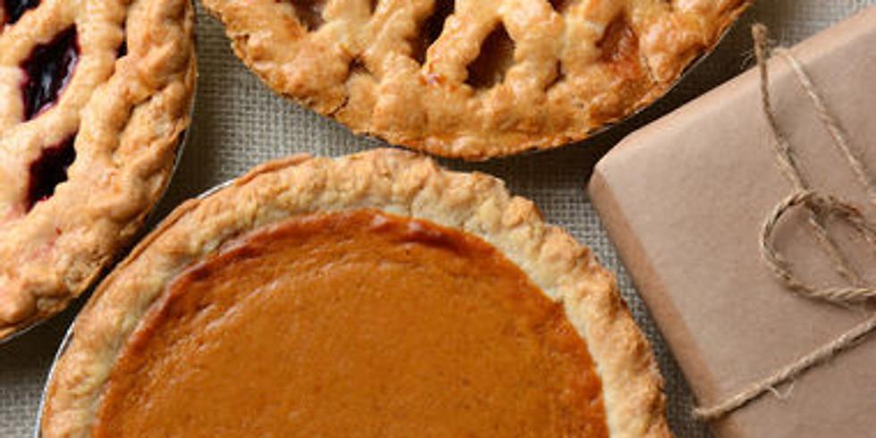 Thanksgiving Worship and Potluck Pies (1)