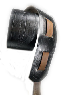 2 tone feather stamp $160+gst