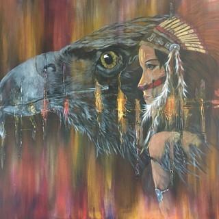 L'aigle et la chamane