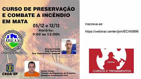 Curso Online de Preservação e Combate a Incêndio