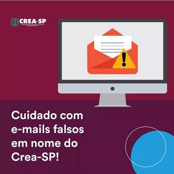 e-mails falsos em nome do crea-sp.png