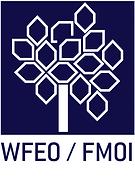 Logo da Organização WFEO. Link da página.