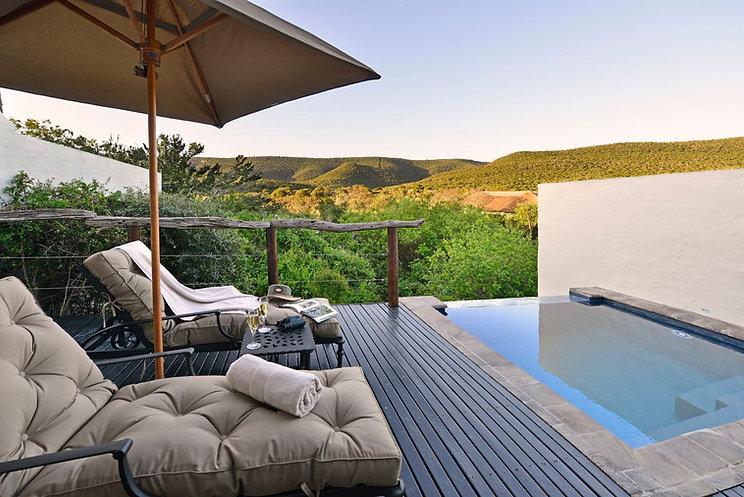 Lobengula Lodge mini suite pool deck.JPG