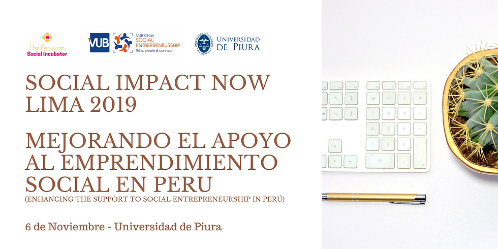 Social Impact Now Lima 2019