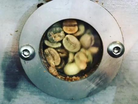 Roast-in-progress