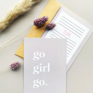 Go girl go