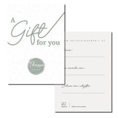 Thessa gift card