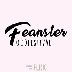 Feanster food festival logo design