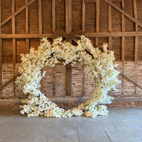 Ivory Blossom Arch