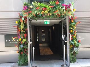 Tropical Door Installation