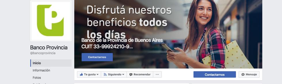 Activación del ecosistema de redes sociales del Banco Provincia