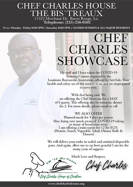 Chef Charles the Bis'Treaux