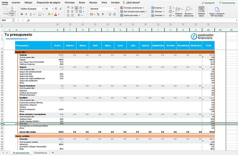 Captura de pantalla Configuración de las