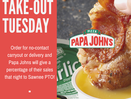 Introducing Take-Out Tuesdays