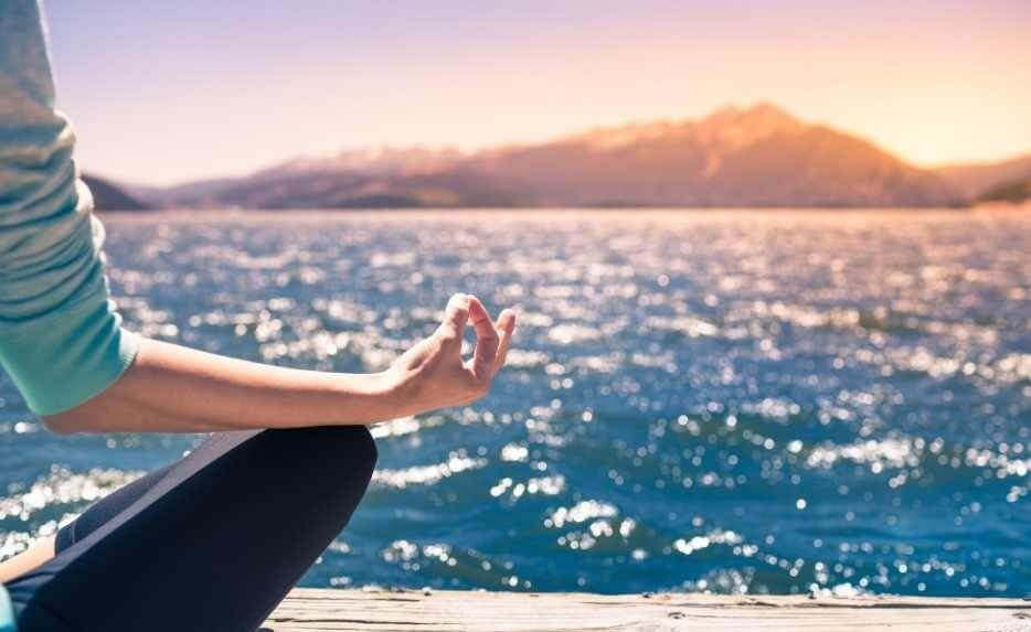 Mindfulness practice, meditate to relax
